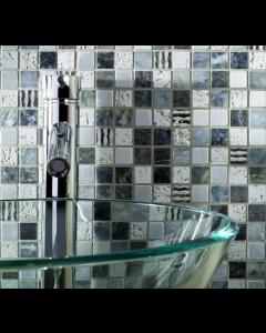 Santiago Mix Marble Mosaic 23x23mm