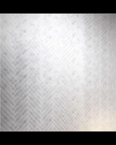Carrara Nouvo Herringbone 415x210mm