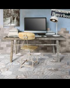 Marshalls Tile and Stone New Orleans Bourbon Street Decor Tile - 100x200mm