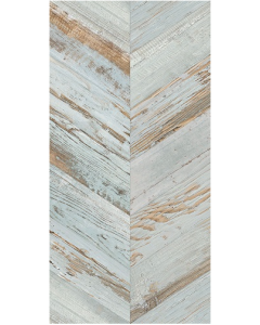 Tribeca Tiles Spiga aqua wood effect 45x90 Tiles
