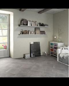 Proxi Grigio stone effect floor 32x32cm Tiles