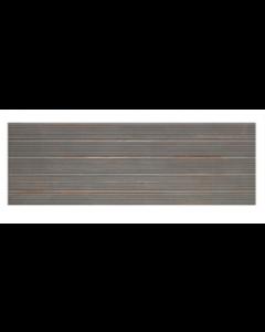 Keraben Bridge Relief Graphite Matt Tile - 690x249mm