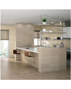 AB Ceramics Metropoli Brown Ceramic Floor Tiles 447x447mm