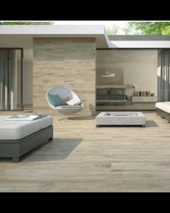 Pamesa Kingswood Kings Deck Argent Tiles - 850x220mm