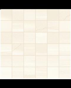 Linear Beige Mosaic Tile - 50x50mm (Sheetsize 300x300mm)