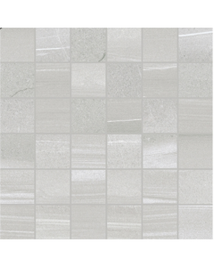 Linear Grey Mosaic Tile - 50x50mm (Sheetsize 300x300mm)