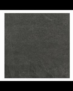 RAK Ceramics Shine Stone Black Matt Porcelain Wall and Floor Tiles 60x60