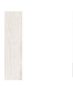 Woodplus Tiles White 22.5x90 Tiles