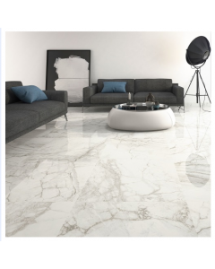 Pamesa Luni Blanco Tiles Leviglass 600x600 Tiles