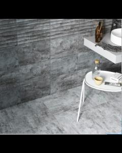 gemini tiles Cosy Grey Matt Tile - 400x250x7.5mm