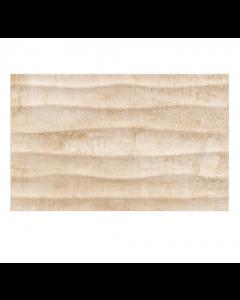 Gemini tiles Cosy Beige Wave Matt Tile - 400x250x7.5mm