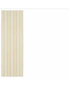 STN Ceramics Limestone Ivory Panel Ceramic Wall Tiles 25x75