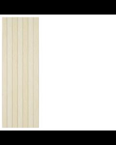 STN Ceramics Limestone Ivory Panel Ceramic Wall Tiles 25x75