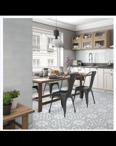 Ledbury marina tile Bourton Tiles Powder Blue 45x45 Tiles
