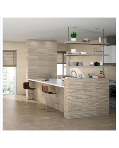 AB Ceramics Metropoli Sand Ceramic Floor Tiles 447x447mm
