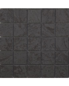 Izen Black 47mm Glazed Porcelain Mosaic