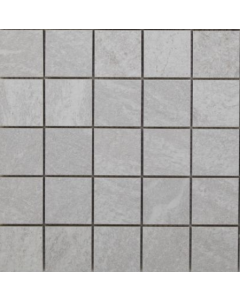 Izen White 47mm Glazed Porcelain Mosaic