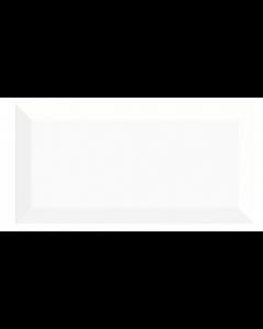 Subway Bianco Brillo Biselado 10 x 20cm