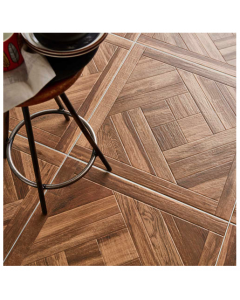 Kanata Tiles Modele warm Walnut Porcelain Floor Tiles