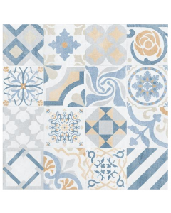 Provenza Blanco Patterned 750x750mm Tile
