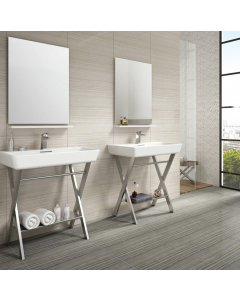 Bolina Bone Porcelain Wall & Floor Tile - 600x300mm