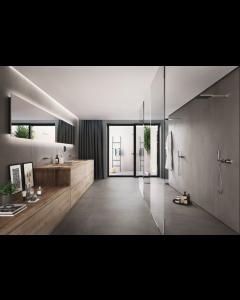 Imola Ceramica Azuma DG Dark Grey Porcelain Wall and Floor Tiles 60x30