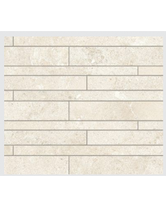 Novabell Tiles Sovereign Avorio Muretto Mosaic Wall and Floor Tiles 60x30