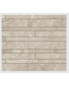Novabell Tiles Sovereign Muretto Grigio Chiaro Mosaic Wall and Floor Tiles 60x30