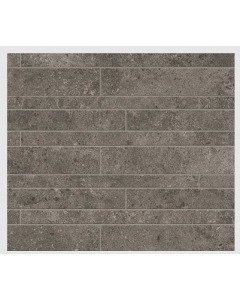 Novabell Tiles Sovereign Muretto Antracite Rett Mosaic Tiles 60x30