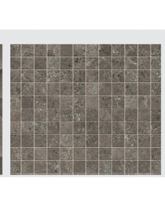 Novabell Sovereign Anthracite 30x30 Mosaic tile