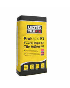 UltraTileFix ProRapid RS 20KG flexible Grey tile Adhesive