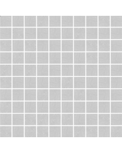 Pietra Pienza Light Grey Mosaic Tile - 30x30mm