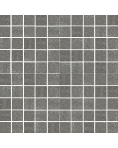 Pietra Pienza Dark Grey Mosaic Tile - 30x30mm