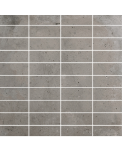 Gemini District Grey Mosaic Tile - 70x25mm