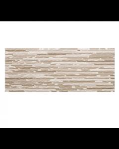 Sanchis Groove Mocha Split Décor Tile - 500x200mm