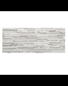 Sanchis Groove Gris Split Décor Tile - 500x200mm