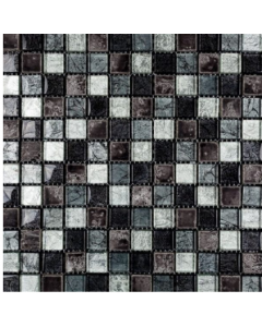 Marshalls Tile & Stone Ethan Black Mosaic – 298mm x 298mm