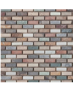 Marshalls Tile & Stone Harlequin Brick Mosaic – 305mm x 305mm