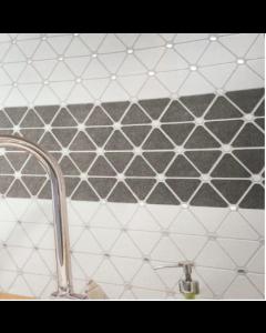 Marshalls Tile & Stone Hibisco Grey Mosaic – 250x300x8mm