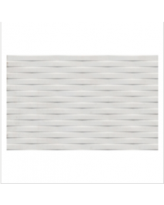 Gemini Cement Tech Mini White Décor Tile - 400x250mm