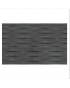 Gemini Cement Tech Mini Anthracite Décor Tile - 400x250mm