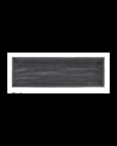 aria black 10x30cm tiles
