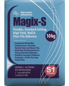 Tilemaster Magic-S White Wall And Floor Adhesive 10kg