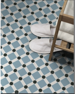 Keros Ceramica Barcelona Night Pattern 25x25cm Tiles