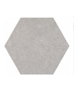 Traffic Silver 25cm Hexagonal Tiles