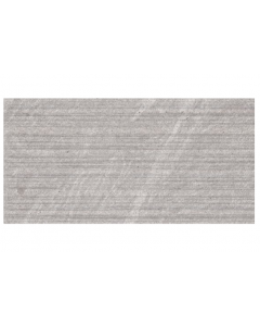Hoxton Gris Linear Glazed Porcelain W&F 300x600mm