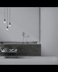 Esha Stone Oceania Matt & Polished Oceania Silver Grey Matt 80x80 Wall and Floor Tiles