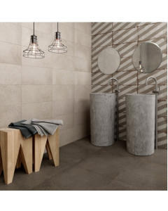 Langdale Tiles Taupe 45x45 Tiles