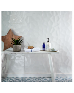 Concept 60x30 Tiles White Gloss Décor Tiles