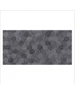 Gemini Buxy Antracita Hexagon Tile - 600x300mm